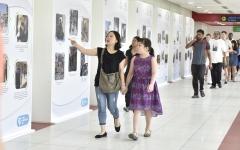 الصورة: معرض صور يسلط الضوء على اليوم العالمي للعمل الإنساني