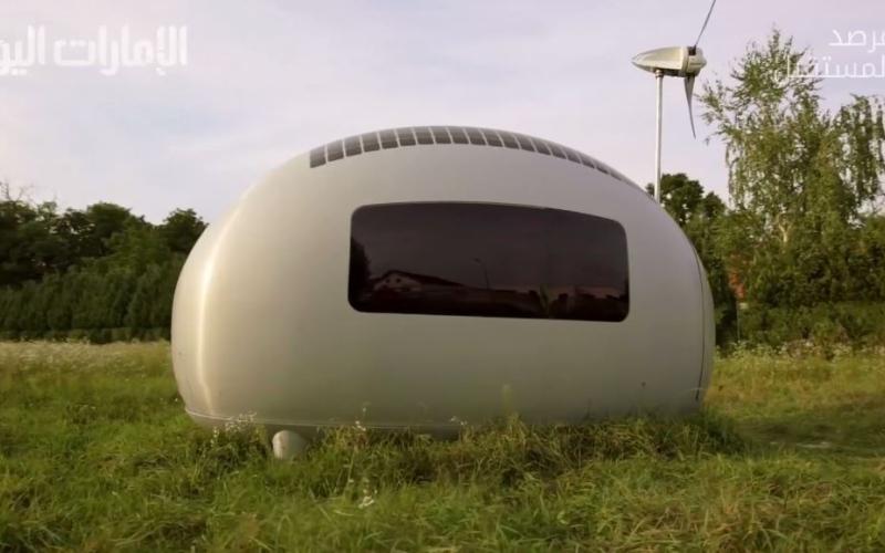 """الصورة: بالفيديو.. منزل """"إيكوكابسول"""" بـ 95 ألف دولار"""