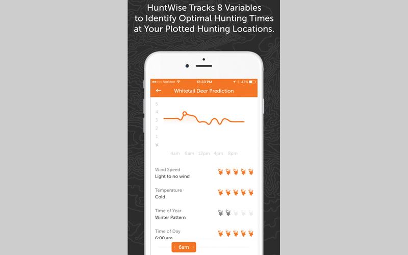 HuntWise: Maps, Hunting Times.. للتعرف إلى أفضل سبل الصيد