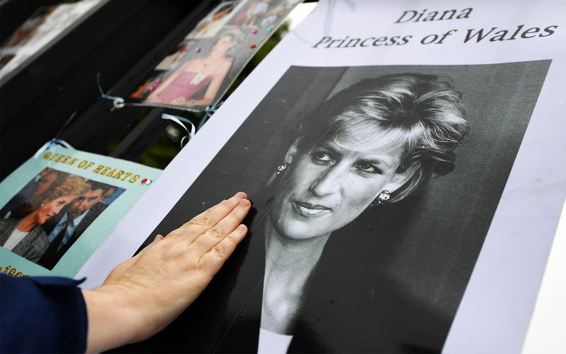 الصورة: بالصور...هكذا أحيت بريطانيا الذكرى العشرين لرحيل الأميرة ديانا