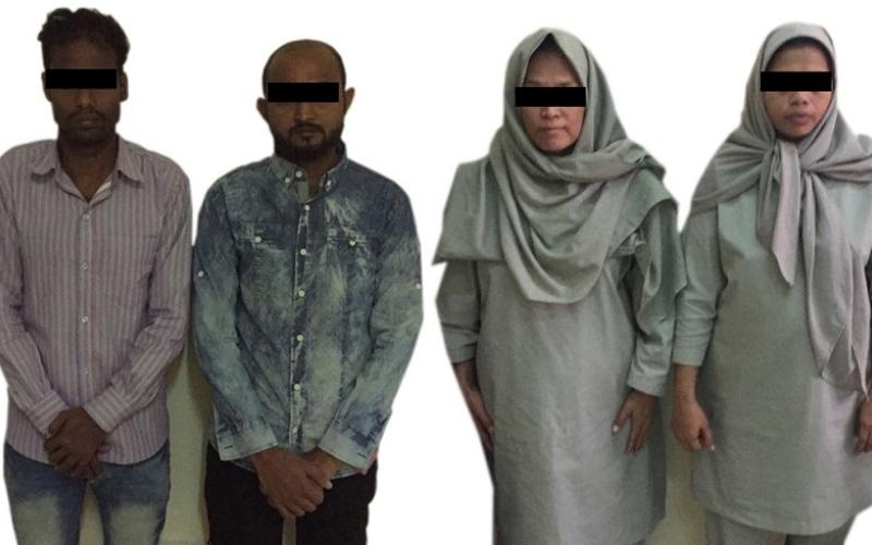 الصورة: القبض على متهمين يستغلون مزرعة مهجورة في إيواء الهاربين وارتكاب الجرائم