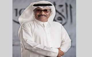 """الصورة: ابراهيم جمعة لـ """" الإمارات اليوم"""": ناشر شائعة وفاتي إدعى أني عمه"""