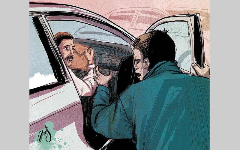 الصورة: السجن والإبعاد لـ 3 أشخاص أدينوا بخطف رجل أعمال