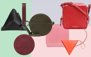 الصورة: حقائب اليد تطلّ بأشكال هندسية