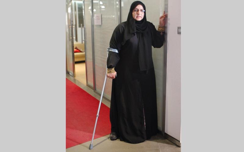 """الصورة: شاهد كيف أعادت مكرمة حمدان بن محمد الأمل لـ """"شبنم"""""""