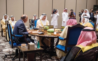 الصورة: «الرباعي العربي»: قطر غير جـــــــــادة في الحوار ومكافحة الإرهاب