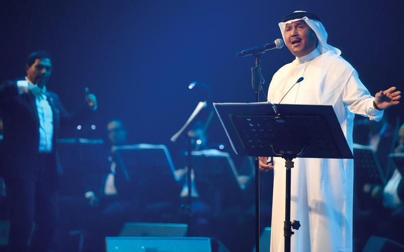 محمد عبده.. بين «هام السحاب» و«مستجيب الداعي» 10 مذهلات في دبي - الإمارات اليوم