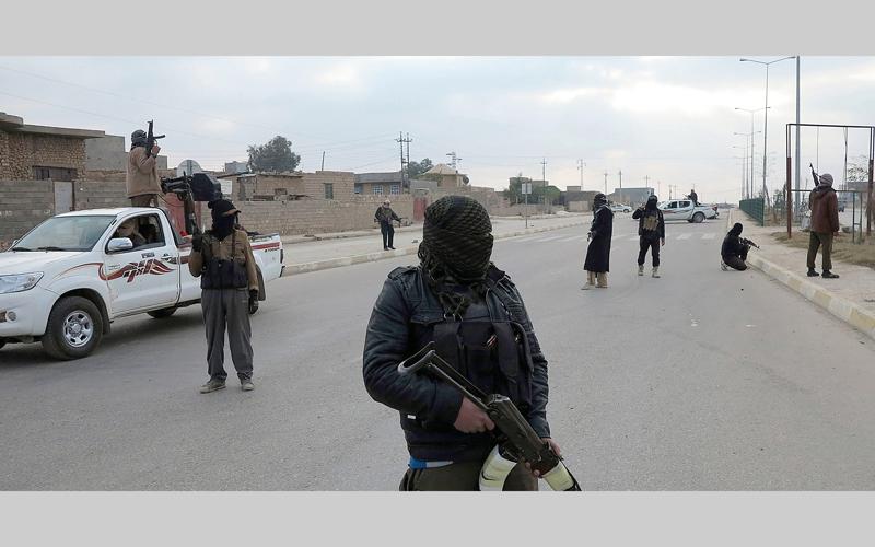 عناصر تنظيم «داعش» تحوّلوا إلى مادة للسخرية.  أرشيفية