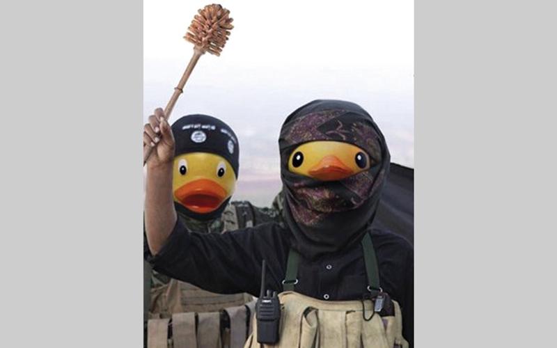 رسوم على شبكات التواصل تسخر من «داعش». عن مجلة «أنينيموس»