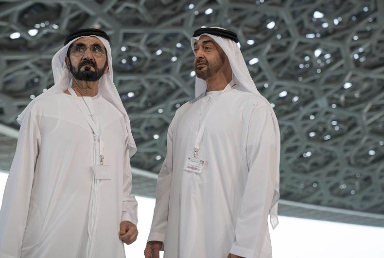 نتيجة بحث الصور عن محمد بن زايد ومحمد بن راشد