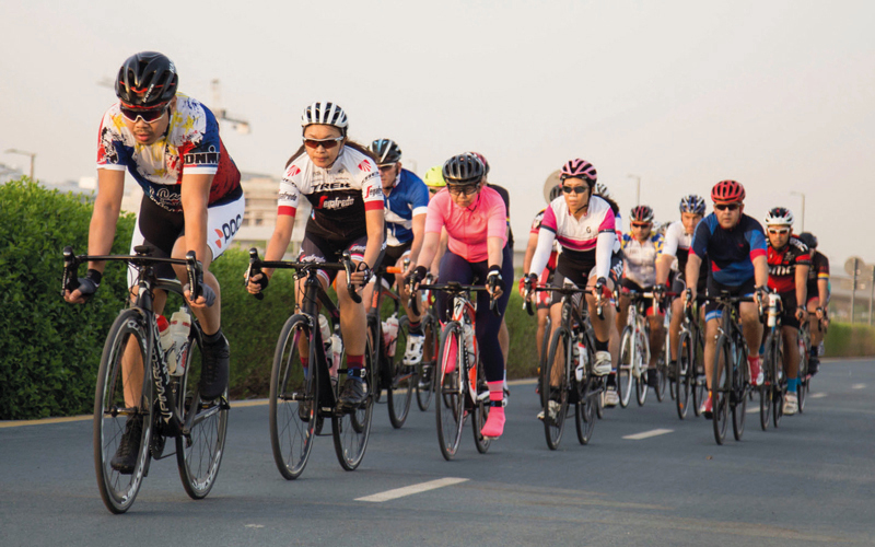 400 دراج في الجولة التحضيرية لـ «تحدي سبينس دبي 92» - الإمارات اليوم