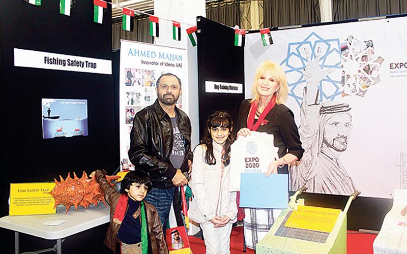 أحمد مجان: تكفيني عبارة «صنع في الإمارات» على مخترعاتي المنتجة. من المصدر