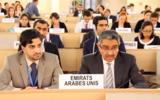 الصورة: الدول الداعية لمكافحة الإرهاب تفــند أكاذيب قطر أمام مجلس حقوق الإنسان