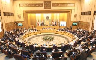 الصورة: «الوزاري العربي» يتحول إلى جلسة تأديب لمندوب قطر