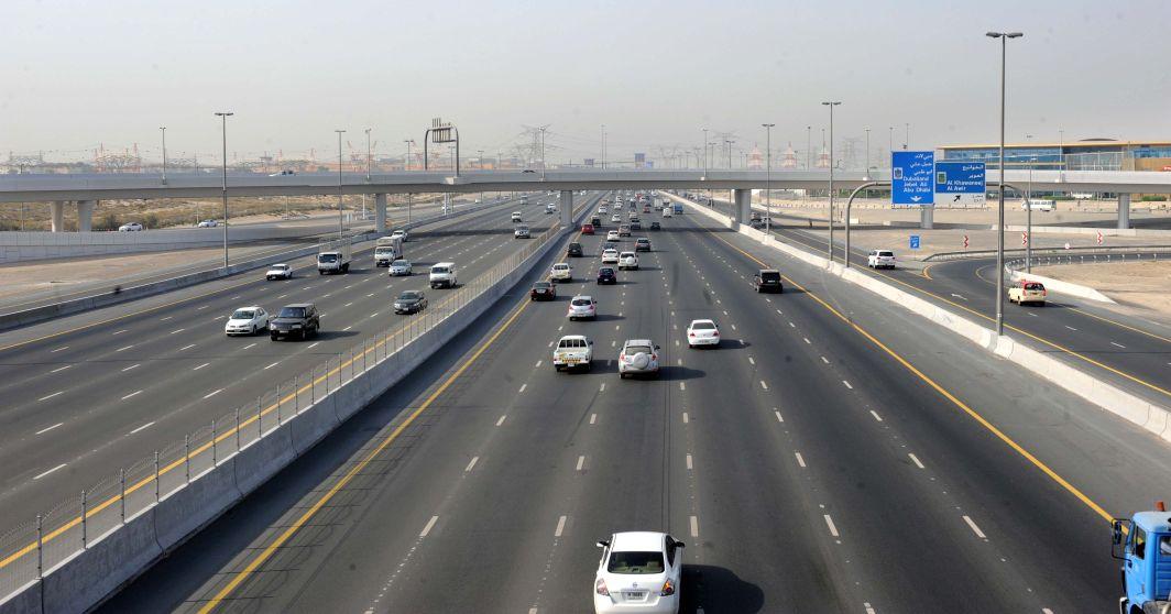 تخفيض سرعة شارعي  الشيخ محمد بن زايد  و الإمارات  - الإمارات اليوم