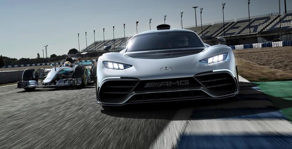 """بالصور: """"مرسيدس بروجكت وان"""" سيارة اختبارية بتقنيات """"الفورمولا1"""""""