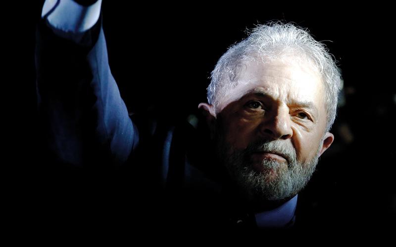 الصورة: لولا دا سيلفا يؤكد أنه ضحية «حملة اضطهاد»