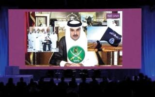 الصورة: المعارضة القطرية: نمضي بخـطى ثابتة   نحو التغيير عبر حكومة انتقالــية