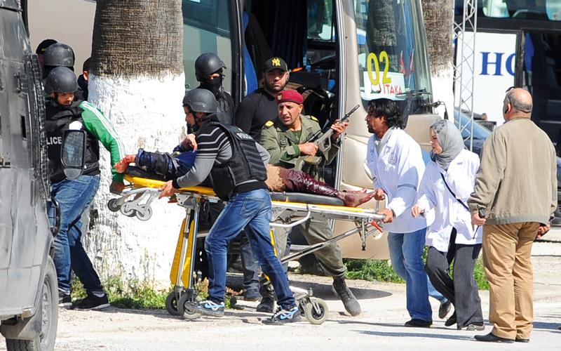 هجمات مسرح بوردو في تونس على النمط نفسه لما تم تنفيذه في فرنسا.  رويترز