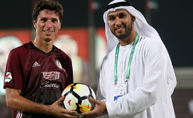 سجل  هاتريك  في الدوري الإماراتي واحصل على كرة موقعة من الحكم! - الإمارات اليوم