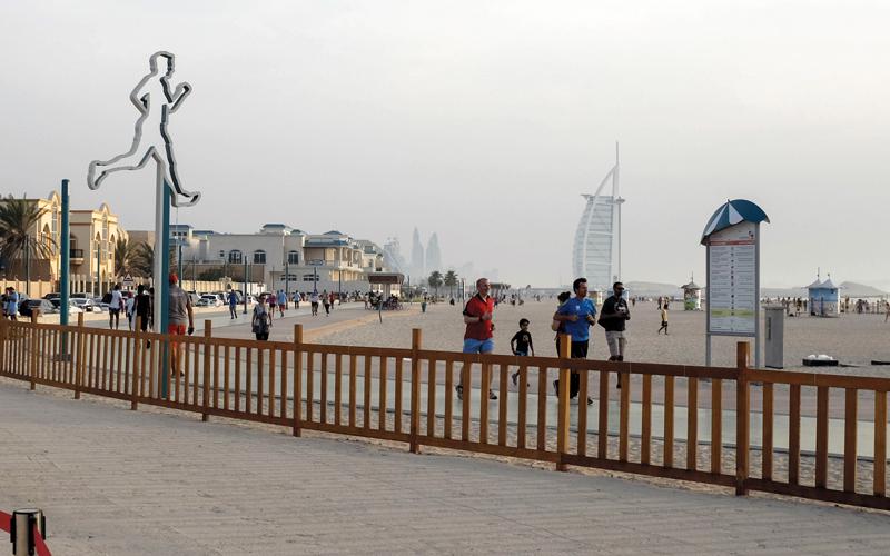 أبرز الأماكن للنشاطات الشاطئية في دبي - الإمارات اليوم
