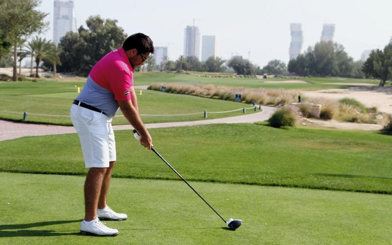 الصورة: الإمارات تتعادل مع السعودية في الغولف