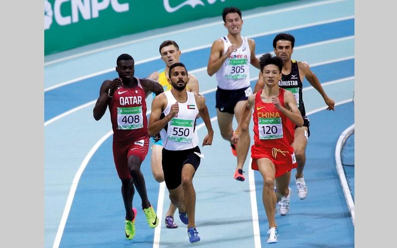الصورة: معيوف يتأهل إلى نصف نهائي سباق 800 متر آسيوياً