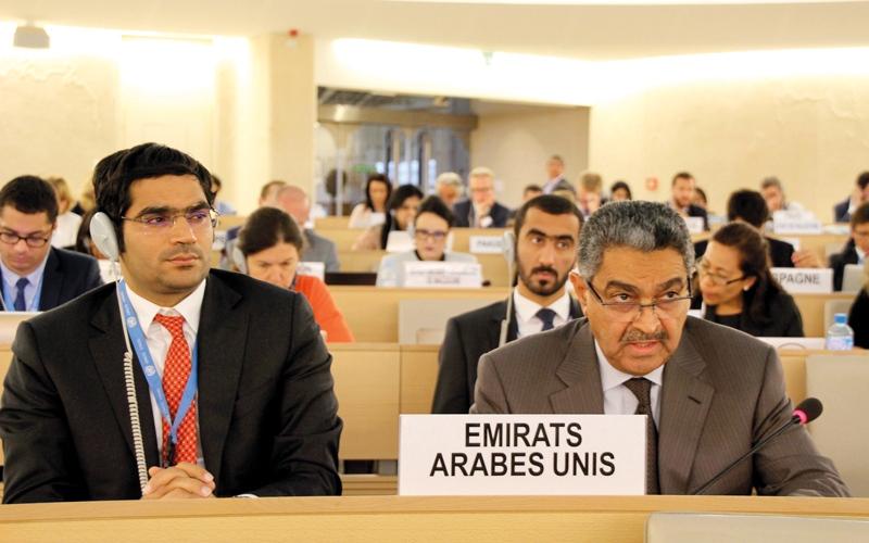 الصورة: الإمارات: الحل السياسي يبقى الخيار الأنجع لإنهاء النزاع في سورية