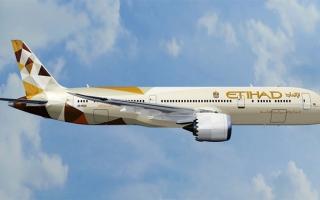 """الصورة: """"الاتحاد للطيران"""" تحدد عدد المسافرين بين أبوظبي وسيدني مؤقتاً"""
