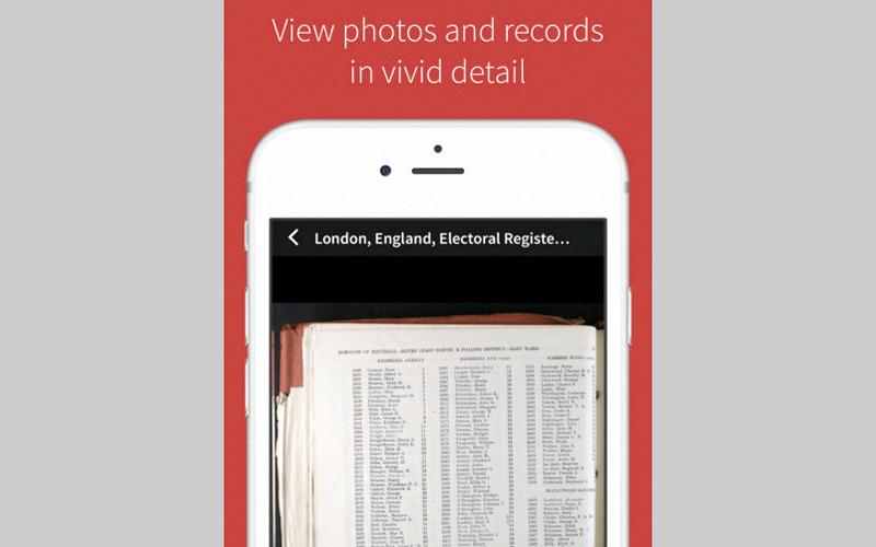 التطبيق يتيح للمستخدم العثور على الصور والقصص الخاصة بأقاربه. من المصدر