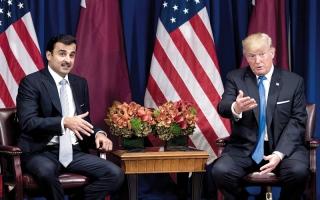 الصورة: قطر تواصل الإنفاق بسخاء لصنــع اللوبيات وغسل سمعتها في واشنطن