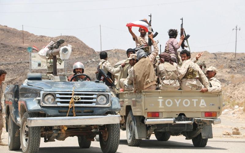 الصورة: الجيش اليمني يعلن بدء مرحلة الحسم العسكري لإنهاء الانقلاب