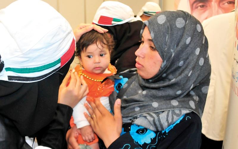 الصورة: «زايد العطاء» يعالج مرضى فقراء في مصر