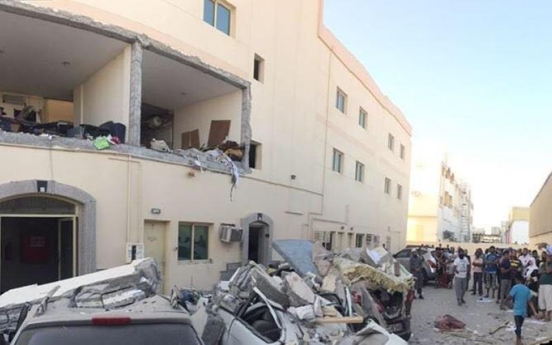 الصورة: إصابة آسيوي  في انفجار اسطوانة غاز في شقة سكنية بالشارقة