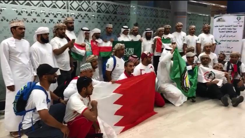 بالفيديو..  هايكنغ الإمارات  يشارك المملكة الاحتفال باليوم الوطني السعودي - الإمارات اليوم