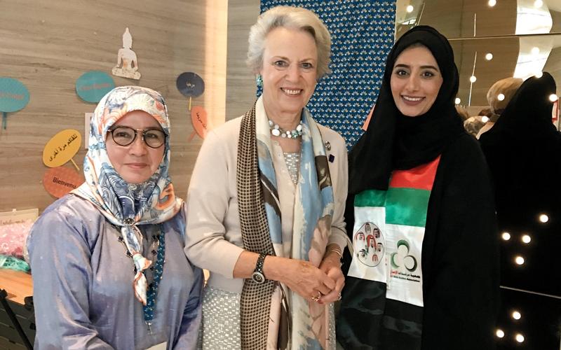 الصورة: «مرشدات الإمارات» تعرض استراتيجيتها في نيودلهي