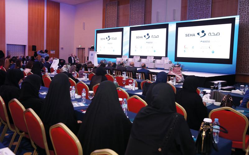 الموسوي عرضت بحثها خلال فعاليات مؤتمر أبوظبي الدولي. من المصدر