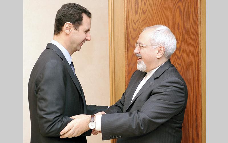بشار الأسد ووفد إيراني.. تفاهمات لا تلقى قبول إسرائيل.  أرشيفية