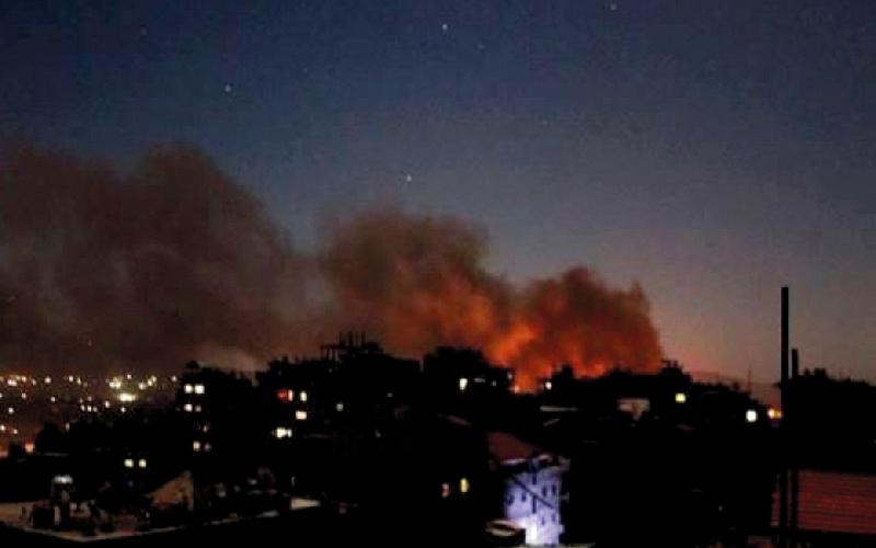 السـياسات الإسـرائيلية تجاه سينـــــاريوهات الصراع السوري
