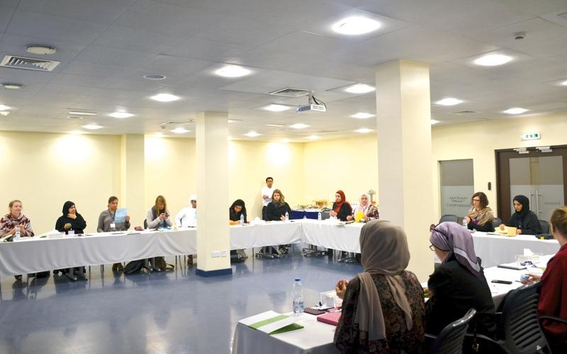 الصورة: افتتاح مدرسة «سوا» لخبراء المتاحف الشباب