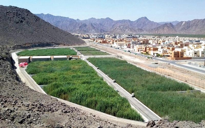 الصورة: مشروع لمعالجة مياه الصرف الصحي في المناطق النائية