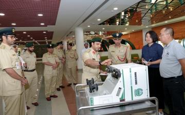 الصورة: شرطة دبي تطلق جهازاً «أذكى من الرادار»