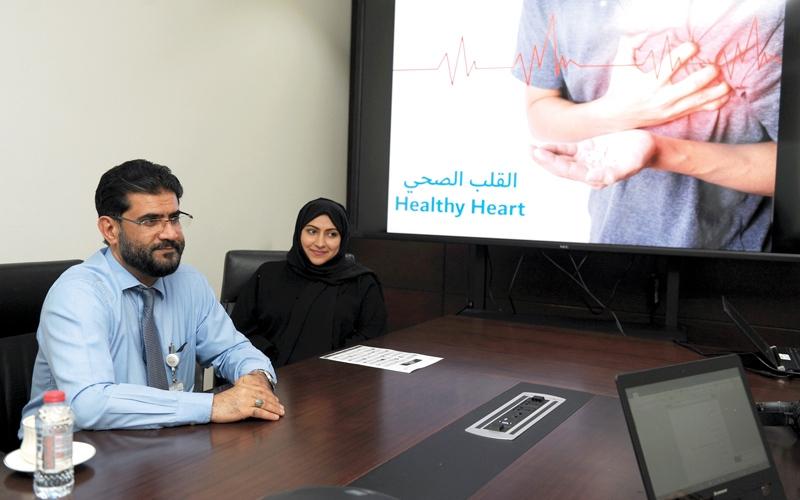 الصورة: العيادة الذكية تناقش أسباب وأعراض الجلطات القلبية