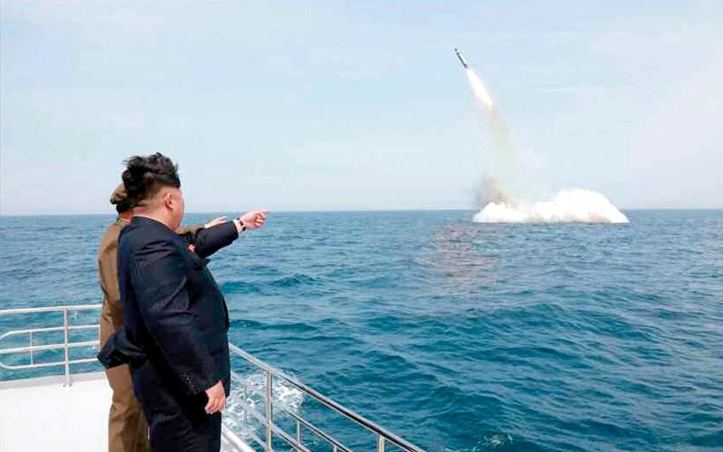 يرى كيم جونغ أون أن القدرات النووية هي قوة الردع الوحيدة في مواجهة العالم الخارجي. أرشيفية