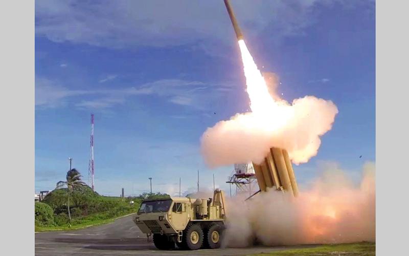 نظام «ثاد» الصاروخي تم تجريبه بنجاح في كوريا الجنوبية. أرشيفية