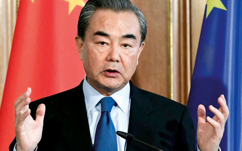 وانغ يي.. الصين لن تسمح حتى  بأن يكون احتمال الحرب 1%. أرشيفية