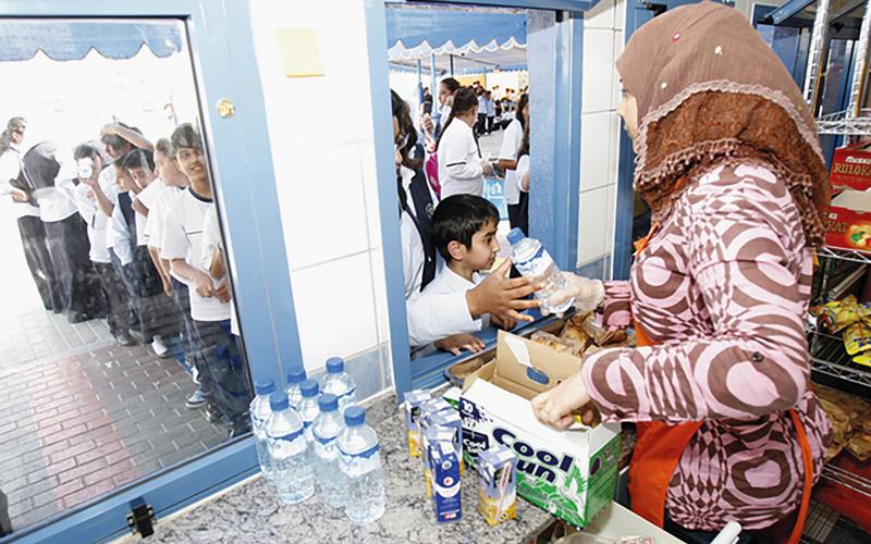 دول مجلس التعاون الخليجي تبنت مواصفات المقاصف الدراسية الإماراتية.