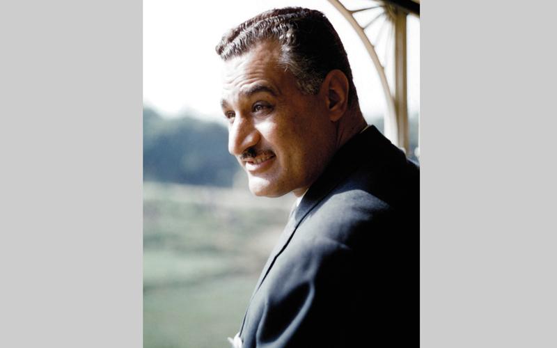 جمال عبدالناصر.