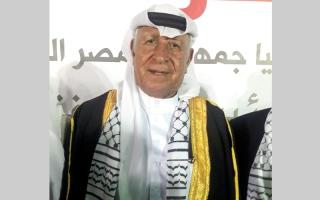 الصورة: رجال العشائر في غزة يشيدون بدور مصر في إتمام المصالحة