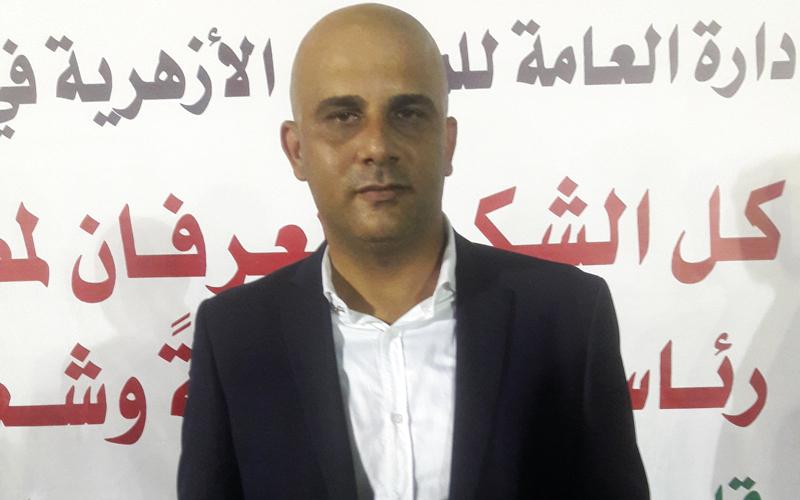 عادل عبدالرحمن: اختيار مقر «الجندي المجهول» تعبير عن رمزية المكان لتضحيات الشعب المصري من أجل فلسطين.  الامارات اليوم